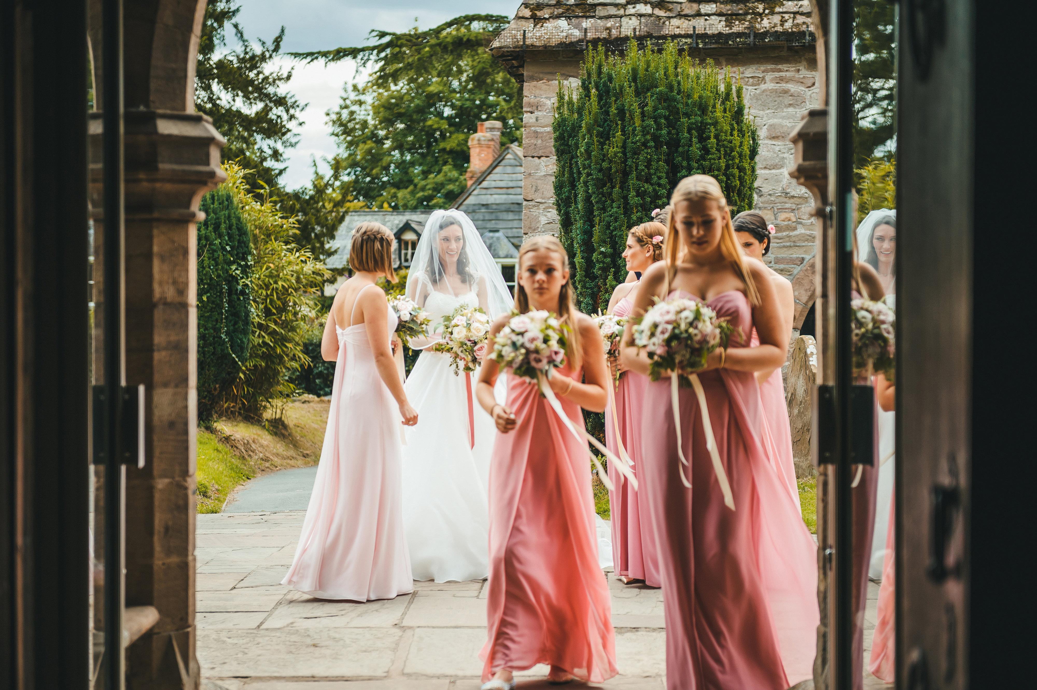 Helen & Andrew 3 designer wedding dresses by Caroline Castigliano