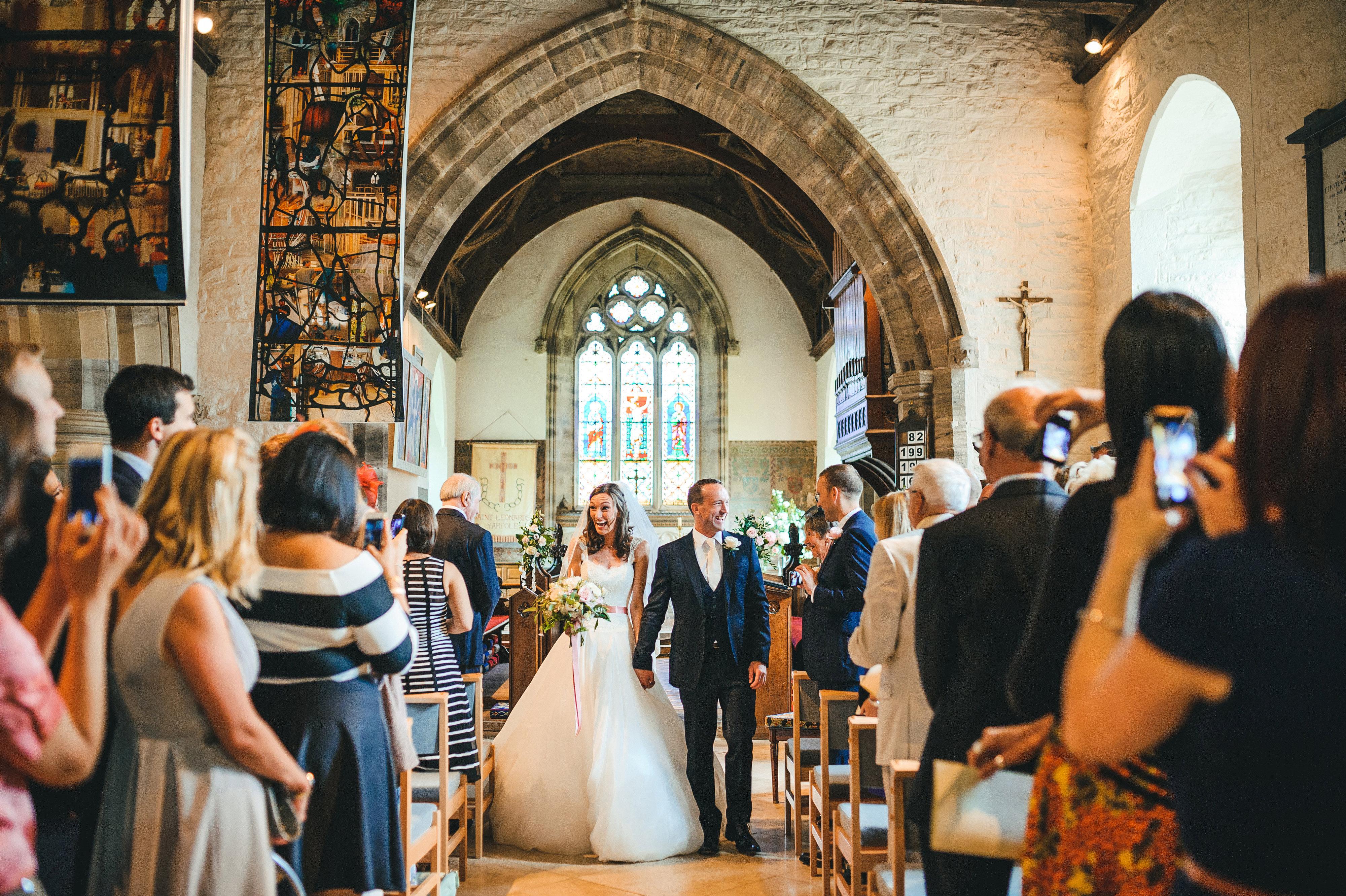 Helen & Andrew 4 designer wedding dresses by Caroline Castigliano