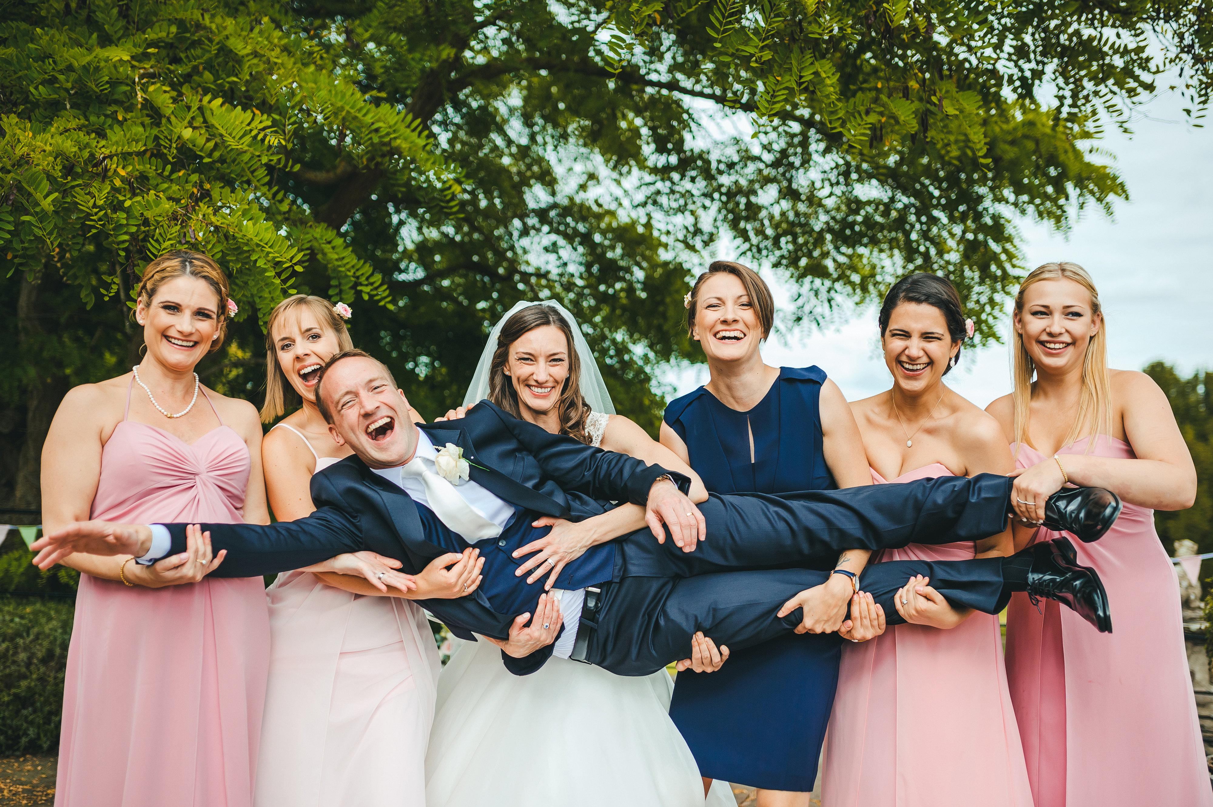 Helen & Andrew 7 designer wedding dresses by Caroline Castigliano