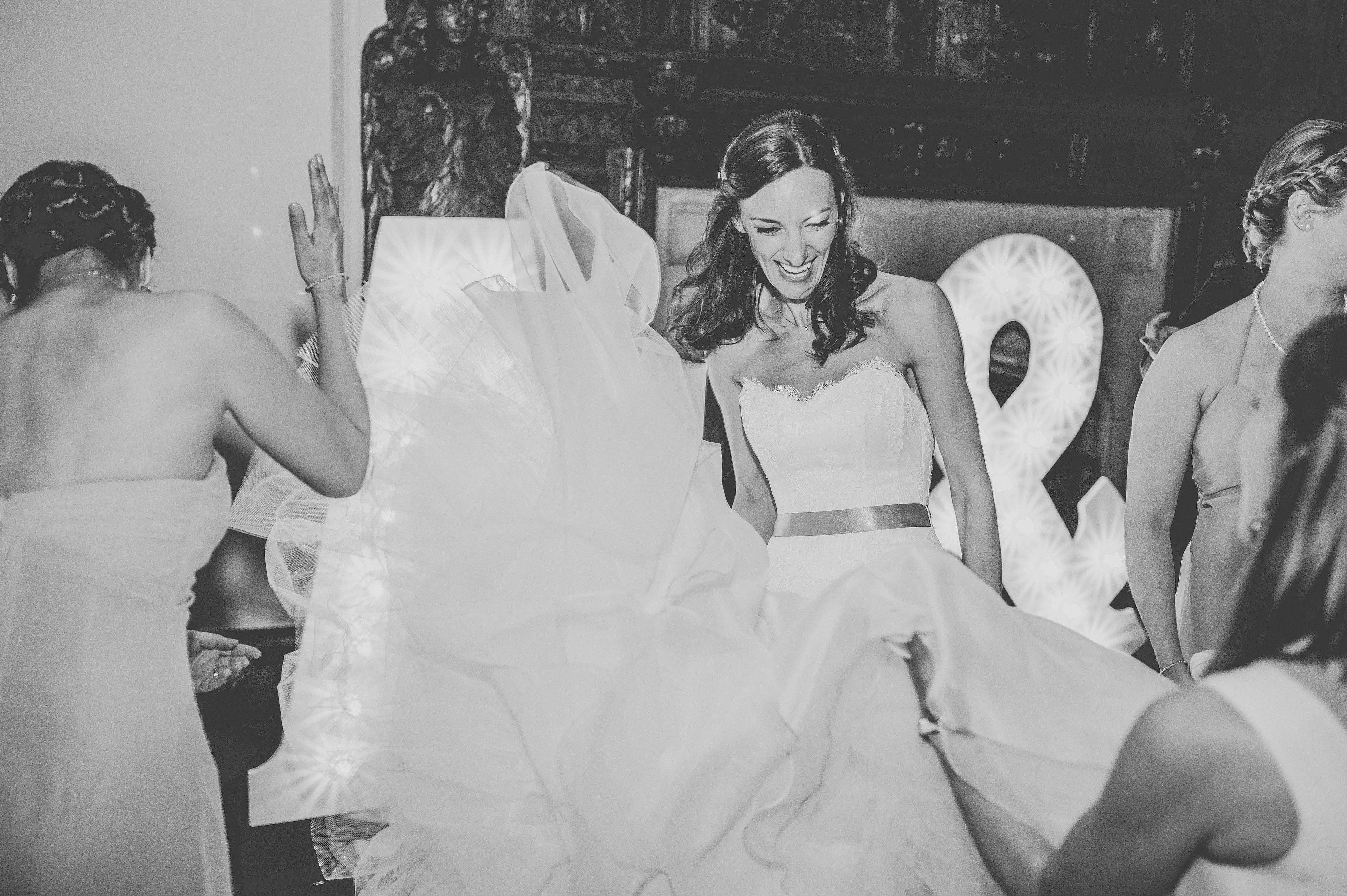 Helen & Andrew 20 designer wedding dresses by Caroline Castigliano