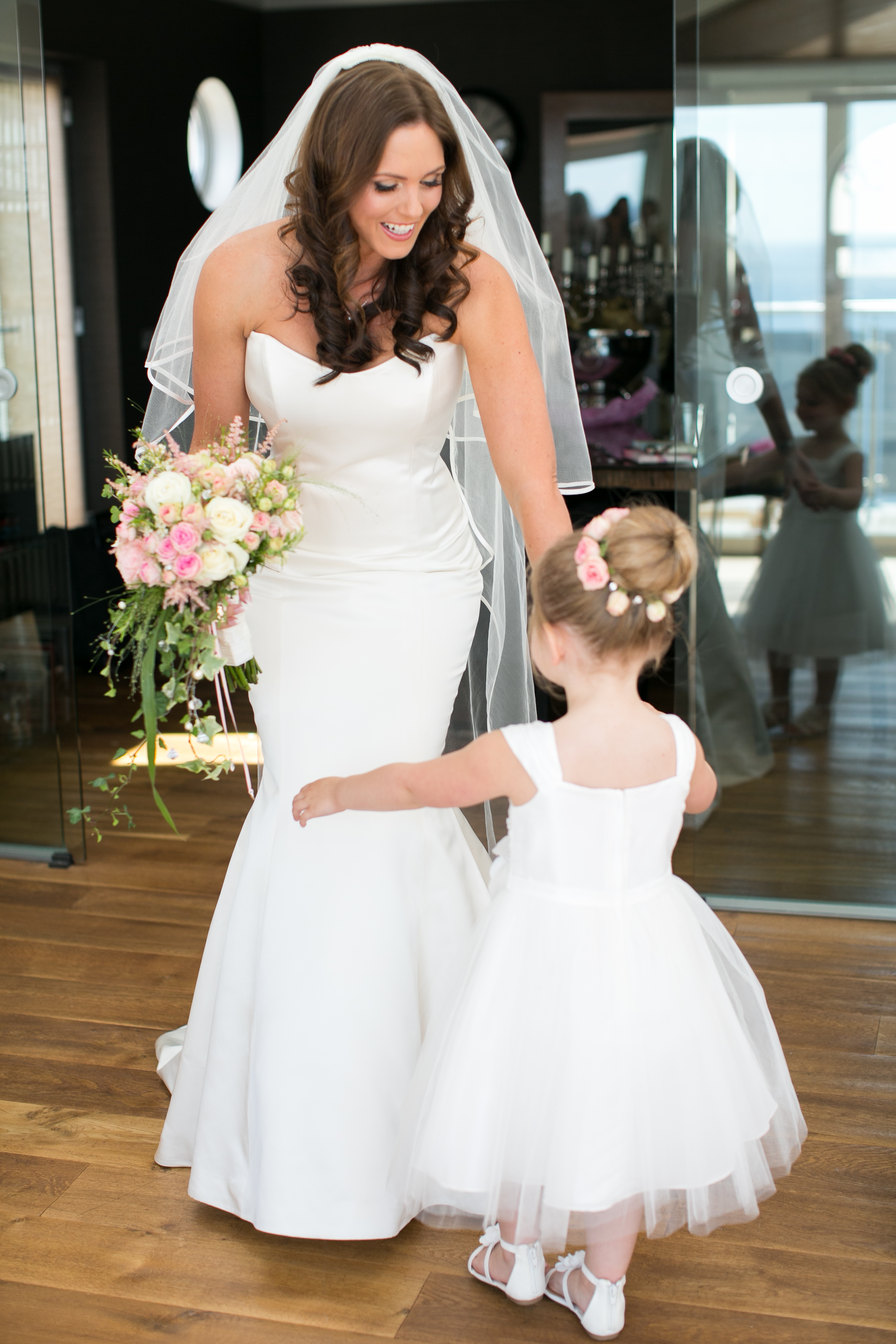 Laura designer wedding dresses by Caroline Castigliano