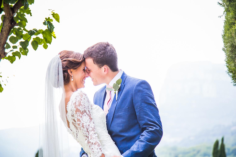 Sarah & Daniel designer wedding dress by Caroline Castigliano